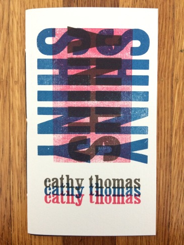 shiny, by cathy thomas - designed and printed at impart ink