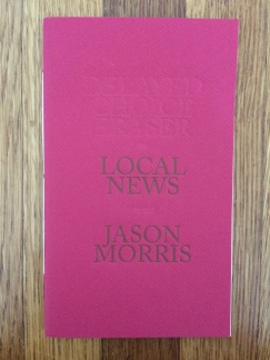 local news, by jason morris - designed and printed at impart ink
