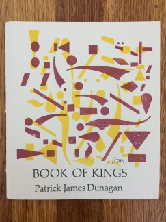 from book of kings, by patrick james dunagan - designed and printed at impart ink