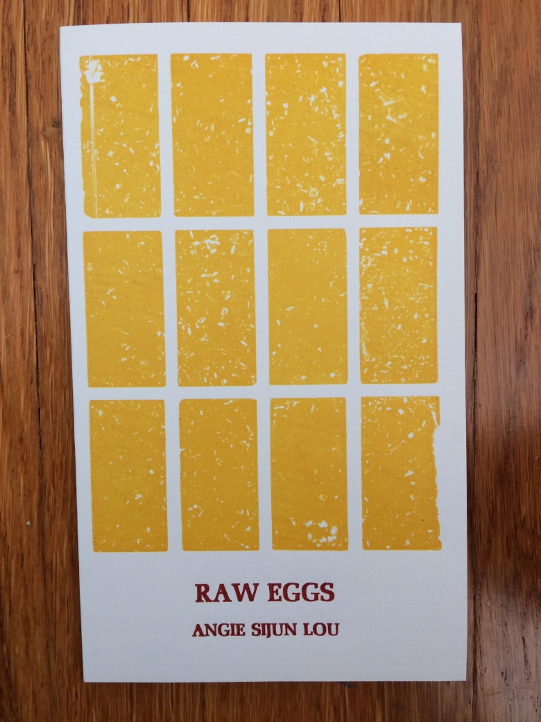 Raw Eggs, by Angie Sijun Lou -- designed and printed at Impart Ink